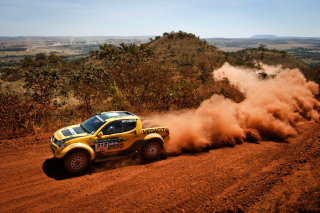 Mitsubishi L200 Triton Rally Background for Android, iPhone and iPad