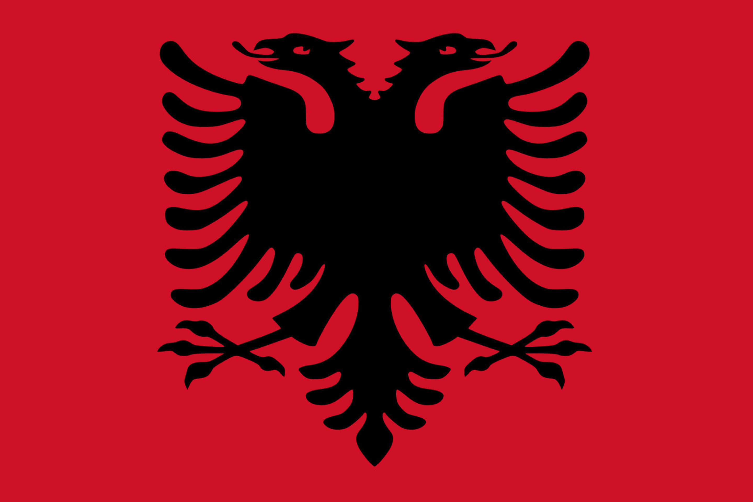 Flag Of Albania Wallpaper For Samsung Galaxy S7