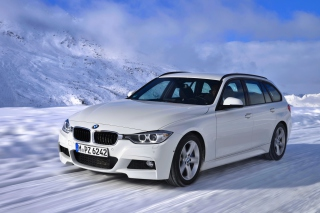 BMW 320d Wagon Picture for Android, iPhone and iPad