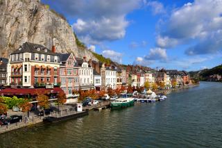Belgium Dinant - Obrázkek zdarma pro 1080x960