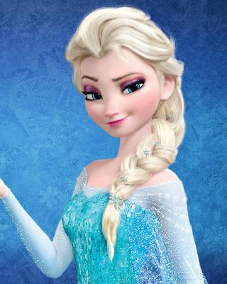 Elsa in Frozen - Obrázkek zdarma pro 640x960