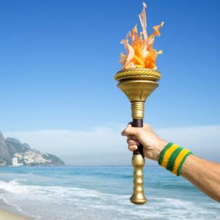 Rio 2016 Olympics - Obrázkek zdarma pro iPad 3