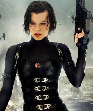 Resident Evil  - Milla Jovovich - Obrázkek zdarma pro 128x160