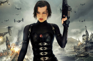 Resident Evil  - Milla Jovovich - Obrázkek zdarma pro LG P970 Optimus