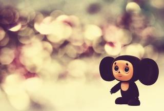 Cheburashka Funny Creature Wallpaper for Android, iPhone and iPad