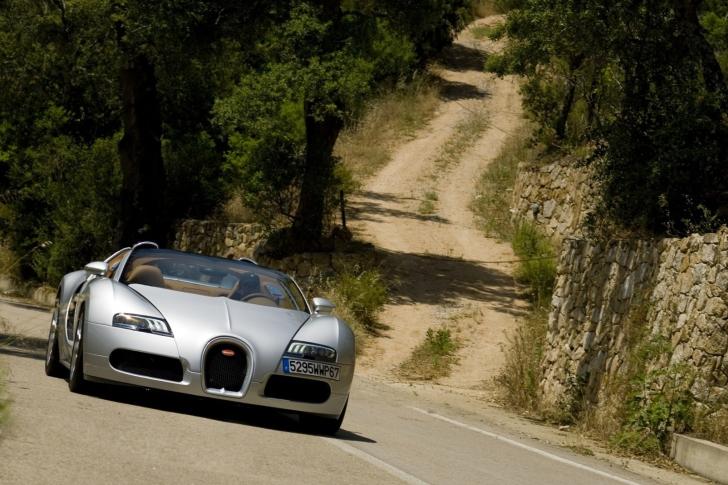 Bugatti Veyron 16.4 Grand Sport papel de parede para celular