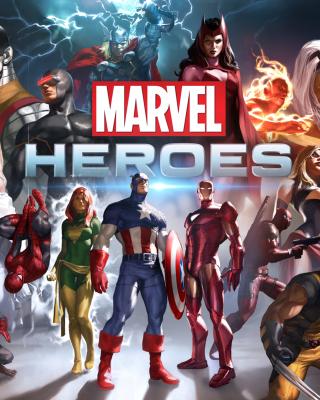 Marvel Comics Heroes - Obrázkek zdarma pro Nokia X2