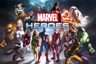 Marvel Comics Heroes - Obrázkek zdarma pro 1200x1024