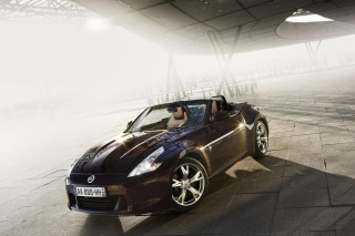 Nissan 370Z Roadster Background for Android, iPhone and iPad
