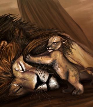 Lion King - Obrázkek zdarma pro 240x432