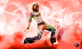 Break Dance Hot Girl Background for Android, iPhone and iPad