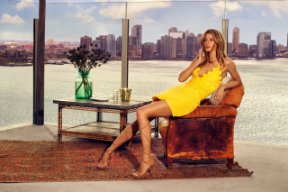 Free Gisele Bundchen Picture for Android, iPhone and iPad