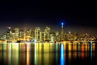San Francisco Skyline Background for Android, iPhone and iPad