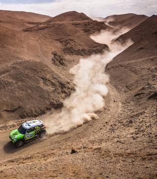 Mini Cooper Rally - Obrázkek zdarma pro Nokia C2-02