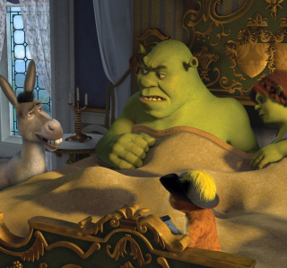 Cartoons Shrek 3 - Obrázkek zdarma pro iPad mini