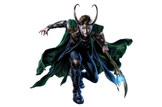 Loki Laufeyson - The Avengers Background for Android, iPhone and iPad