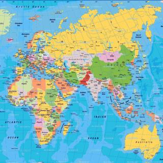 World Map - Obrázkek zdarma pro 208x208