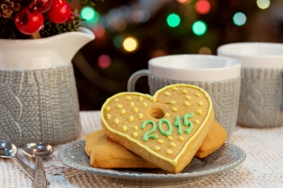 Free Try Merry Xmas Cookies with Mulled Wine Picture for Android, iPhone and iPad