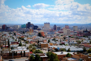 El Paso, Texas Background for Android, iPhone and iPad