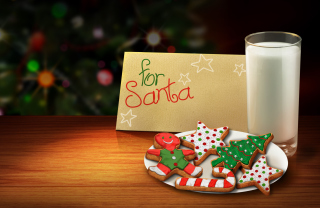 Letter For Santa Background for Android, iPhone and iPad