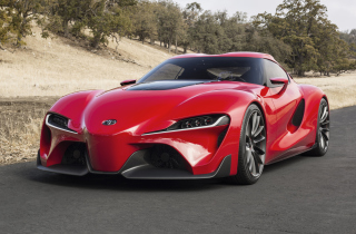 Free Toyota FT-1 Concept Picture for Android, iPhone and iPad