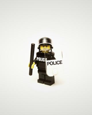 Police Lego - Obrázkek zdarma pro Nokia Lumia 625