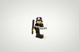 Police Lego - Obrázkek zdarma pro Fullscreen 1152x864