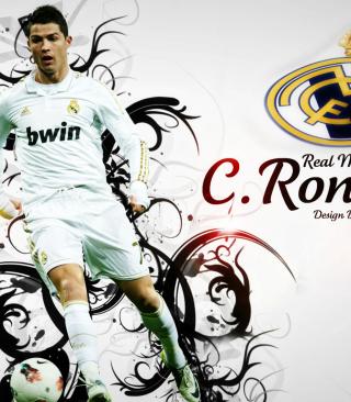 Cristiano Ronaldo - Cr7 - Obrázkek zdarma pro Nokia X2