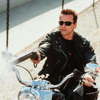 Arnold Schwarzenegger in Terminator 2 - Obrázkek zdarma pro 2048x2048