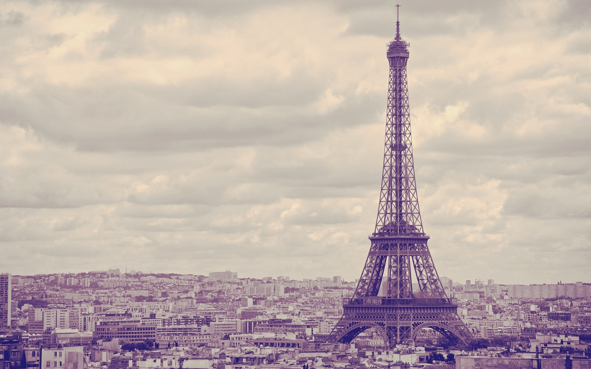 Torre Eiffel Dibujo Animado A Color: Eiffel Tower Landmark Color