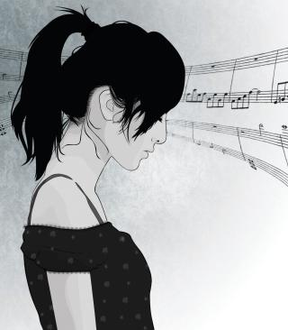 Music In My Head - Obrázkek zdarma pro Nokia X6