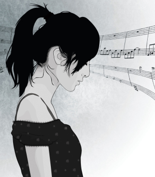 Music In My Head - Obrázkek zdarma pro 128x160