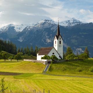 Switzerland Alps - Obrázkek zdarma pro iPad