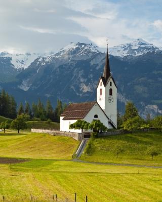 Switzerland Alps - Obrázkek zdarma pro iPhone 5S