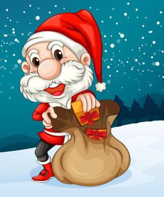 Happy Santa - Obrázkek zdarma pro Nokia X1-00