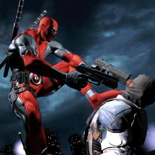 Deadpool Superhero Film - Obrázkek zdarma pro 2048x2048