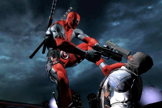 Deadpool Superhero Film Wallpaper for Android, iPhone and iPad