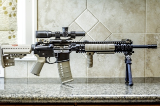 Free AR15 BCM Assaultrifle Picture for Android, iPhone and iPad