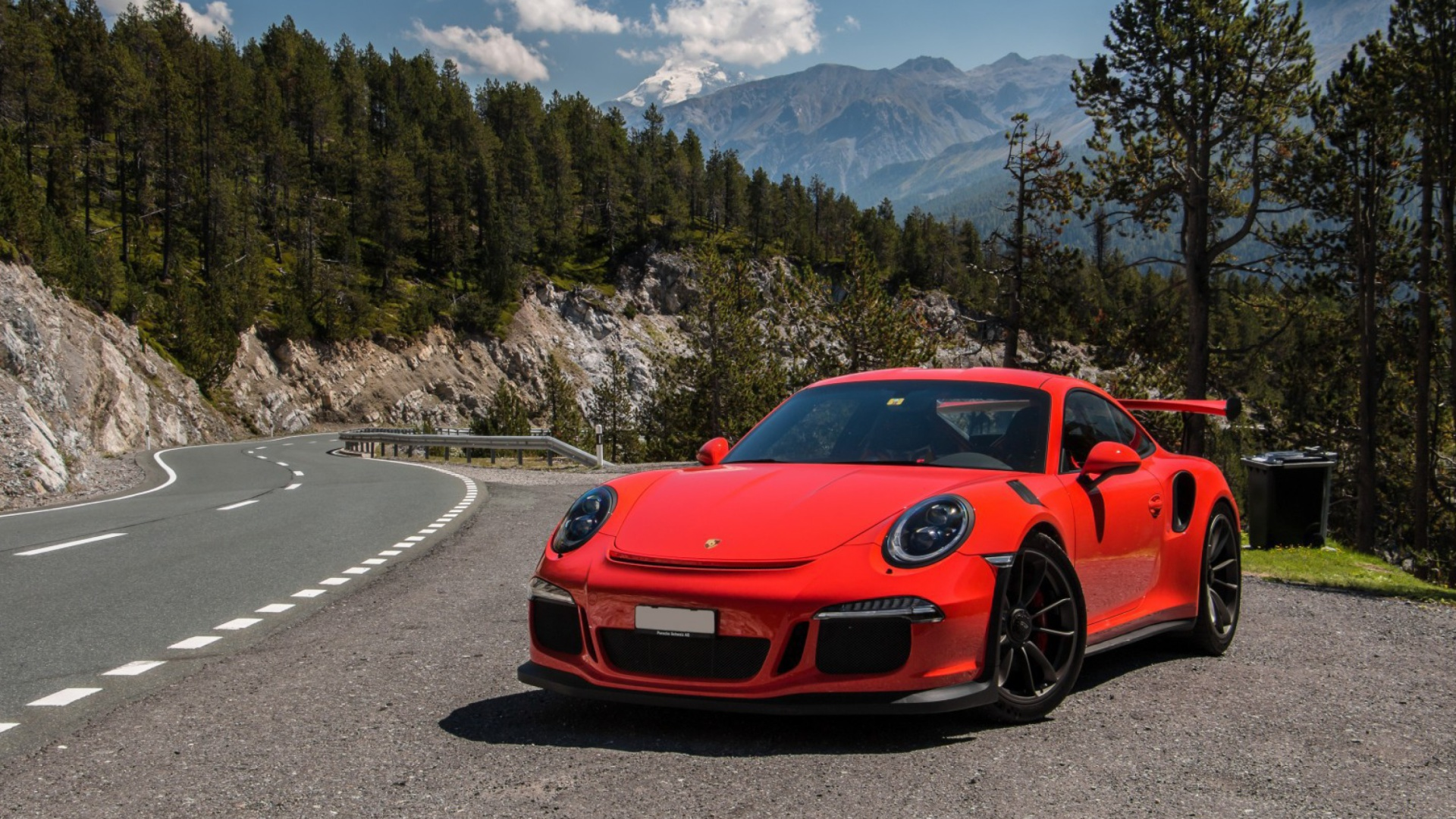 Porsche 911 GT3 RS Wallpaper For Desktop 1920x1080 Full HD