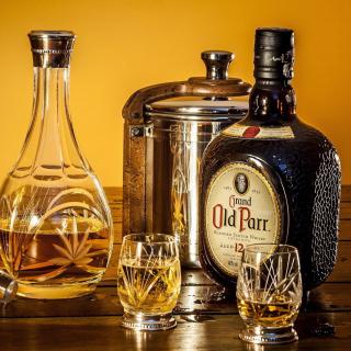 Grand Old Parr Blended Scotch Whisky - Obrázkek zdarma pro 2048x2048