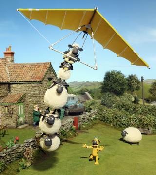 Shaun The Sheep - Obrázkek zdarma pro 320x480