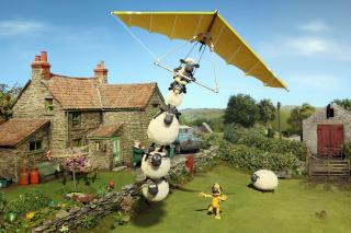 Shaun The Sheep - Obrázkek zdarma pro 800x480