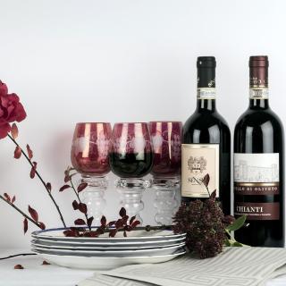 Chianti Wine from Tuscany region - Obrázkek zdarma pro 1024x1024