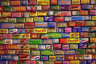 Chewing gum Turbo Wallpaper for Android, iPhone and iPad