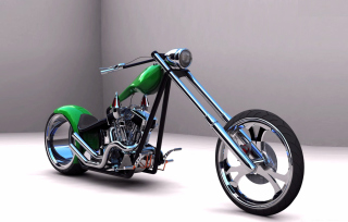 Harley Davidson Chopper Background for Android, iPhone and iPad