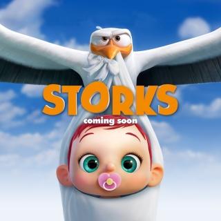 Storks HD - Obrázkek zdarma pro iPad 2