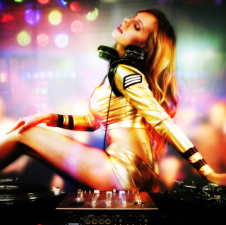DJ - Obrázkek zdarma pro iPad mini 2