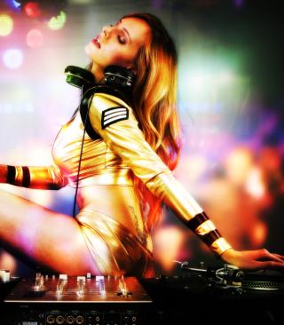 DJ - Obrázkek zdarma pro Nokia C-5 5MP