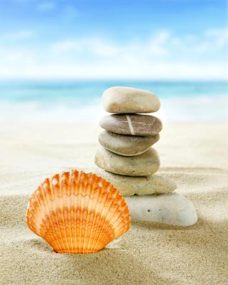 Sea Shells Beach - Obrázkek zdarma pro iPhone 5C