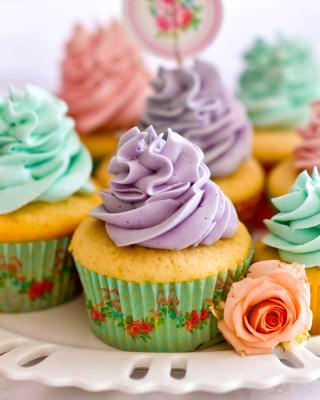 Birthday Cupcakes - Obrázkek zdarma pro 768x1280
